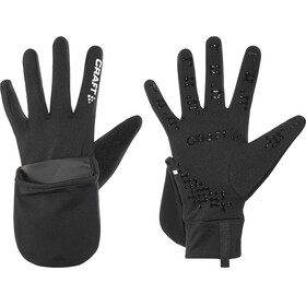 Craft Hybrid Weather Gloves Unisex black